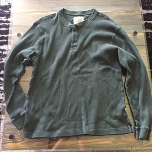 Men's thermal forest green